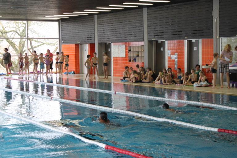 Schwimmkurse im Hallenbad